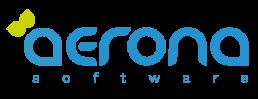 Aerona logo blue