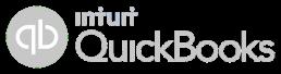quickbooks logo grey