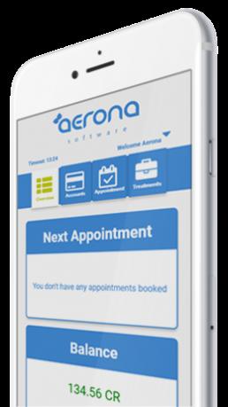 Aerona on iPhone