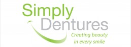 Logo & addresses for simply dentures