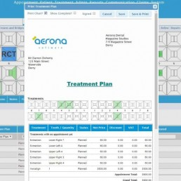 Aerona treatment plan image